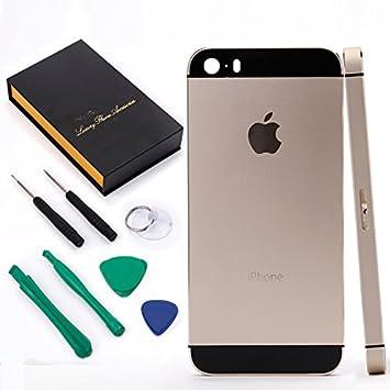 Coolbuy - Carcasa trasera de sustitución para iPhone 5S ...