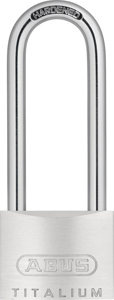 ABUS 54TI/40HB63 40 x 63mm Titalium Padlock with Long Shackle ABU54TI4063-TBK