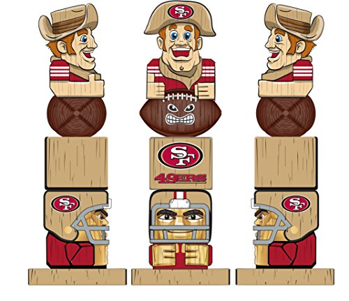 - Evergreen Enterprises NFL San Francisco 49ers Tiki Totem