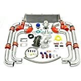 Universal Turbocharged Upgrade T04E T3 9pc Turbo Kit