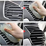 Glue Dust Cleaner For Car - Dust Glue Cleaner Tool Clean For Car Air Vent Dashboard Conditioner Storage Box Door Handle Keyboard - Keyboard Cleaner Gel - Magic Glue clean tool - Sticky Cleaning Slime