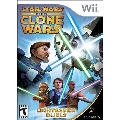 Star Wars the Clone Wars: Lightsaber Duels - Nintendo Wii (Wii Star Wars)