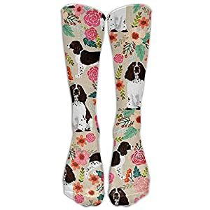 English Springer Spaniel Compression Socks Long Socks Football Socks Sports Stockings 8
