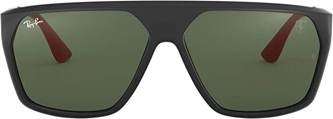 Ray-Ban 0RB4309M Gafas de sol, Matte Black, 59 para Hombre: Amazon ...
