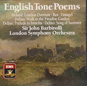 Barbirolli: English Tone Poems