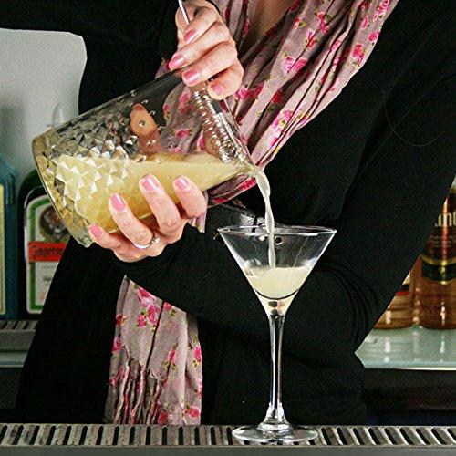 Mescolando di vetro cocktail Glass mixer in vetro carati miscelazione vetro 737,1/gram//750/ml