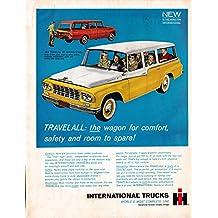 1961 International Harvester Travelall Wagon-Original 13.5 * 10.5 Magazine Ad