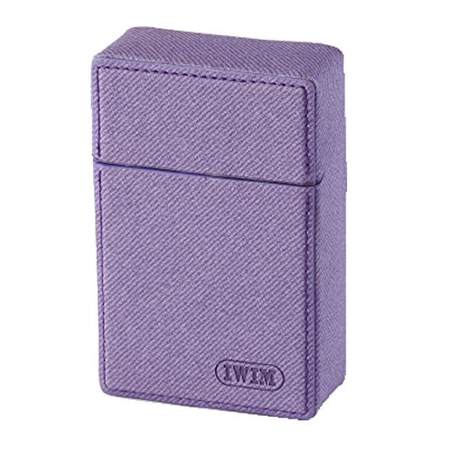 IWIM PU Leather Cigarette Case/Box/Holder for King Size Cigarettes
