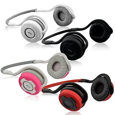 NoiseHush NS400 Bluetooth Stereo Headset Rechargeable Various Colors