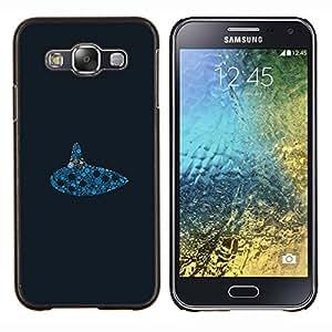 LECELL--Funda protectora / Cubierta / Piel For Samsung Galaxy E5 E500 -- Submarino Reloj --