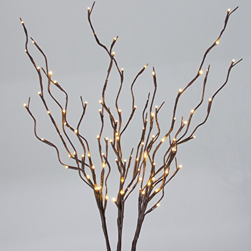 Best Choice Products 40in Decorative Willow Branch Incandescent Home Lights w/96 LED - (Willow Branch 96 Lights)