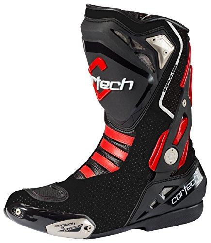 Cortech Men's Impulse Air Road Race Boot (Black, Size 7)