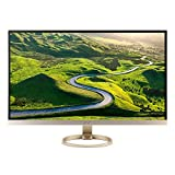Acer UM.HH7AA.002 H277HU - LED monitor - 27 inch - 2560 x 1440 - 350 cd/m2 - 1000:1 - 4 ms - HDMI, DisplayPort - speakers - white, gold