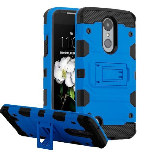 MyBat Cell Phone Case for LG X210 (Aristo 2) SP200 (Tribute Dynasty) K8 (2018) Zone 4 - Blue/Black Solid
