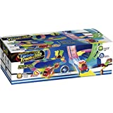 Mindscope Twister Tracks Trax 360 Loop 15' (feet) of Neon Glow in the Dark Track with Two Light-Up (Pulse LED)...