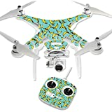 MightySkins Protective Vinyl Skin Decal for DJI Phantom 3 Standard Quadcopter Drone wrap cover sticker skins Bananas