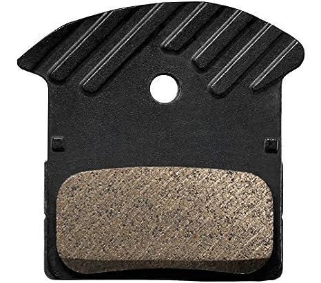 7e4ae9d354d928 Amazon.com : SHIMANO J02A Resin Disc Brake Pad Pair : Sports & Outdoors