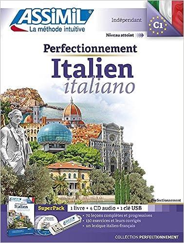 Amazon Com Superpack Perfectionnement Italien Niveau