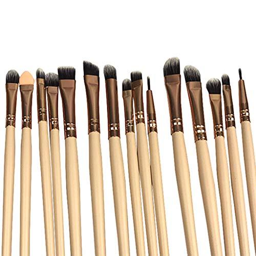- 20x Fashion Kabuki Cosmetic Set Eyeshadow Eyebrow Foundation Lip Brush Skin