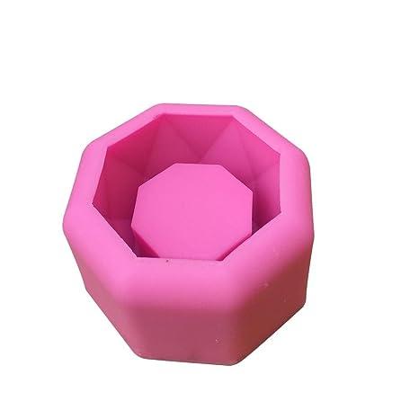 Ridecle Molde de Silicona Maceta de Plantas suculentas, Cemento de Yeso, Flecha, Maceta