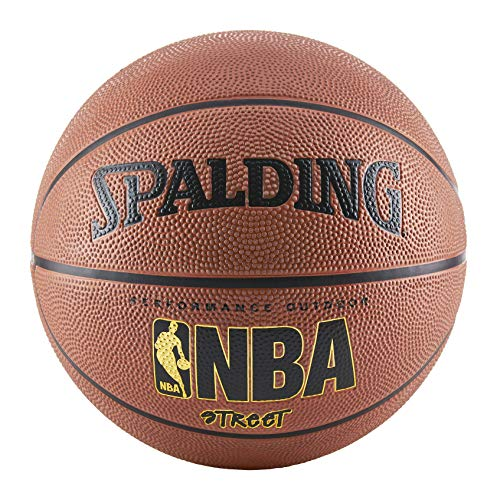 Spalding NBA Street Basketball Official Size 7 (29.5 Inch) (Best Gym Equipment Brands In The World)