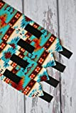 Polo Wraps / Stable Wraps, Native American Teal Turqoise