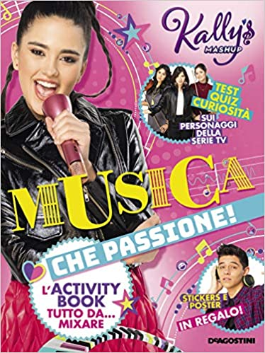 Amazon Fr Musica Che Passione L Activity Book Tutto Da