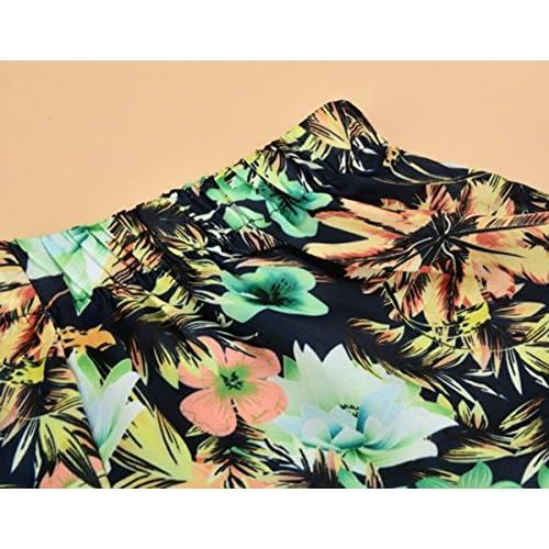 1b09c244fbcf cooshional Pantalones Cortos Calientes Shorts para Mujer Estampado ...