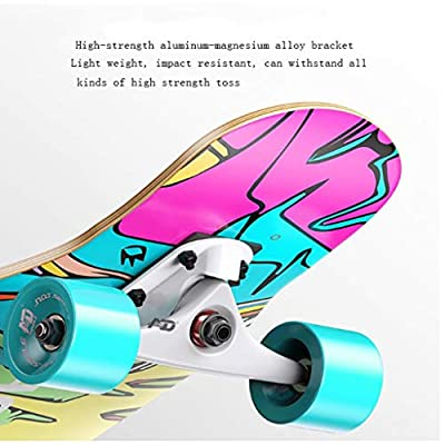 Aniseed Skateboards Longboards Drop Through Downhill/Cruiser Freeride Complete Longboard 42 Inch Snowy Lone Wolf : Sports & Outdoors