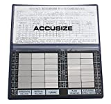 AccusizeTools - Surface Roughness Comparator Inch/Metric Combo, #EG02-0226