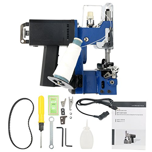 YaeTek GK9-900 110V 180W Portable Electric Bag Closer Sewing Sealing Stitching Machine by YaeTek