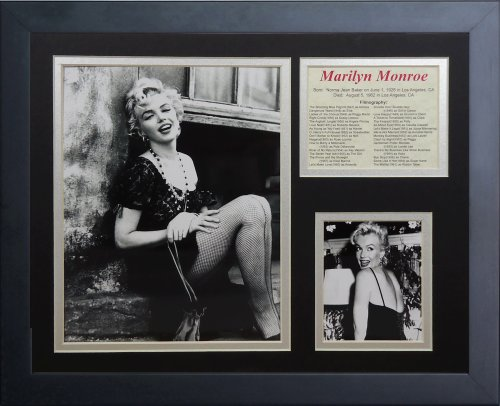 Legends Never Die Marilyn Monroe Framed Photo Collage, 11 by 14-Inch - Marilyn Monroe Photographs