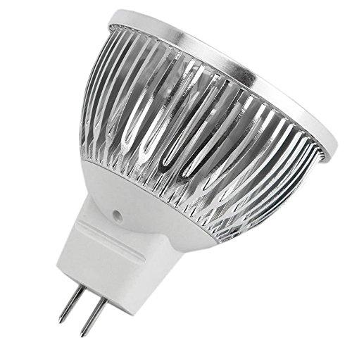 Mr16 Led Light Bulbs 50w: 10-PACK 4W 12V Dimmable LED MR16 Light Bulb, 50W Halogen