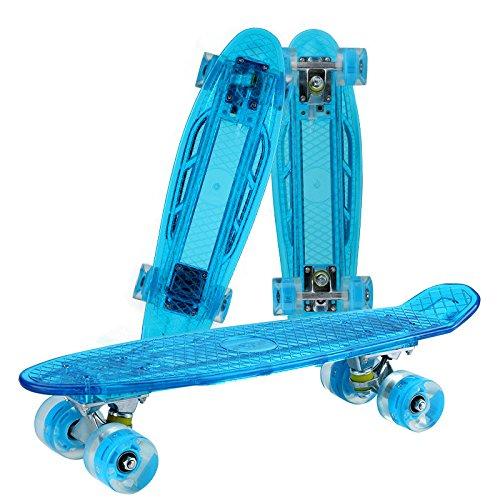 最新の激安 RaiFu スケートボード ファッショナブル クール ストリート LEDライト バナナボード LEDライト 4ホイール クール B07H869NPL ブルー ブルー, フォトフレームの名入れ工房 和:091cc953 --- a0267596.xsph.ru