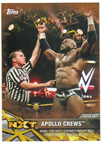 2017 Topps WWE NXT Wrestling Matches and Moments Bronze #7 Apollo Crews
