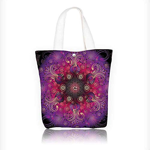 - Canvas Tote Bags Filigree Authentic Persian Elegance Culture Motif Fuchsia Hot Pink Maroon Design Your Own Party Favor Pack Tote Canvas Bags by Big Mo's Toys W16.5xH14xD7 INCH