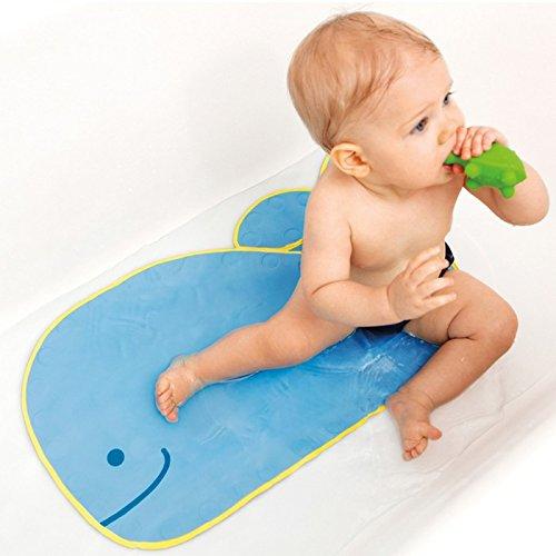 Skip Hop Moby Bathmat with Suction Base Blue