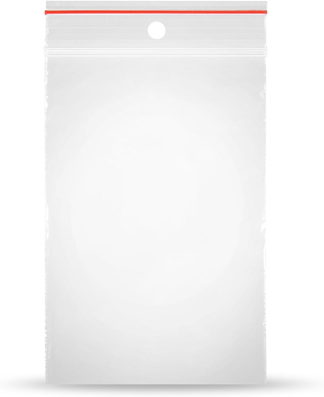 100 Druckverschlussbeutel Tüten Tütchen transparent Zipper Beutel 100x180mm