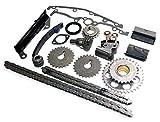 Nissan Full Timing Chain Kit 1.6 (1.6L) GA16DE DOHC Engine, Fits NX, 200SX, Sentra (IF-94147S)