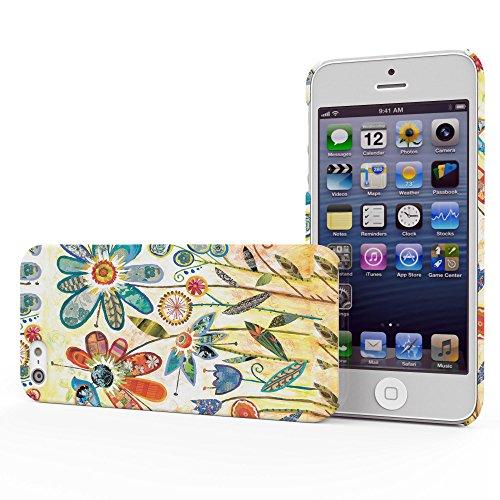 Koveru Back Cover Case for Apple iPhone 5S - Wild Garden