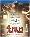 Coffret 4 Films : Annabelle 1 et 2 + The Conjuring 1 et 2 [Blu Ray]