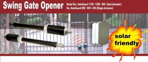 ALEKO GG1700NOR Automatic Dual Swing Gate Opener for Gates up to 26 Feet Long 1700 Pounds by ALEKO (Image #4)