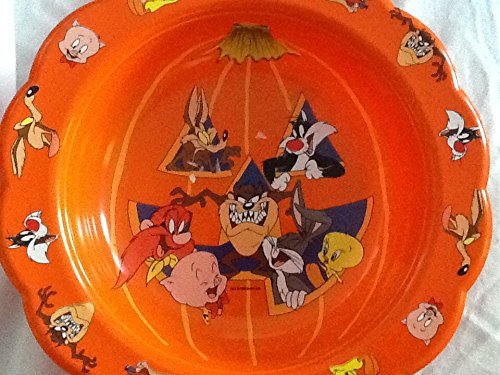 Retro Looney Tunes Plastic Tray, Halloween Treat -