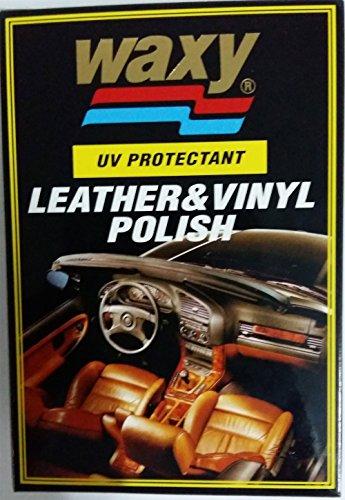 WAXY LEATHER & VINYL POLISH 265 CC. - Powder Coat Players