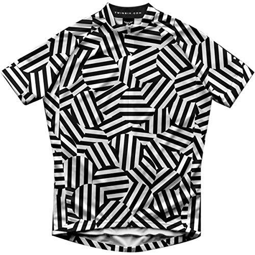 Twin Six Scrambler Short-Sleeve Jersey - Men's One Color, XL