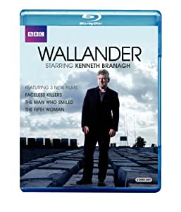 Wallander Faceless Killers/The Man Who Smiled/The Fifth Woman [Blu-ray]