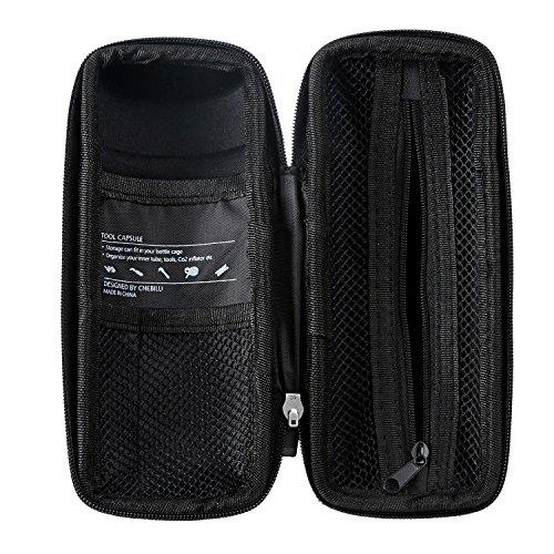 West Biking Zip Case Tool Bag for Water Bottle Cage Black