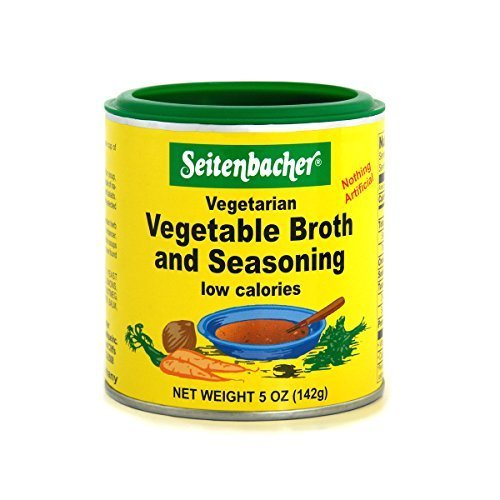 - Seitenbacher Vegetable Broth and Seasoning - 5 oz. can (3-Pack)