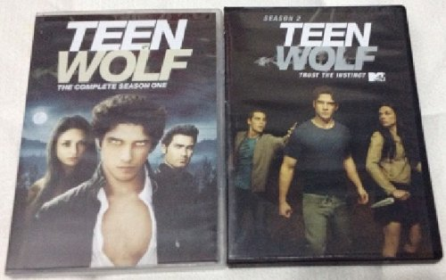 TEEN WOLF Seasons 1 and 2 DVD Sets (BOTH TOGETHER) MTV Tyler