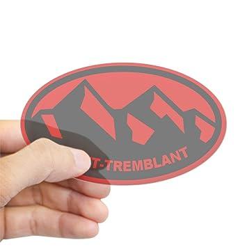 CafePress Mont-Tremblant Oval Bumper Sticker Car Decal